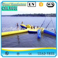 qiling reliable sports entertainment water trampoline walmart for promotion