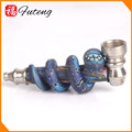 Futeng brand creative design Cheap High Quality Herb Metal Wholesale Smoking Pipe