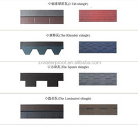 Roof glazing asphalt shingle sheets roof tiles