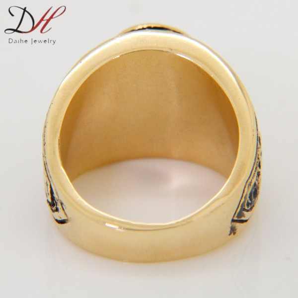 DAIHE 2016 new design fashion oem silver ring