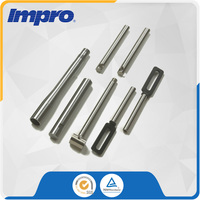 Aluminium Alloy Servo-Piston precision machining parts For pump of hydraulic cylinder
