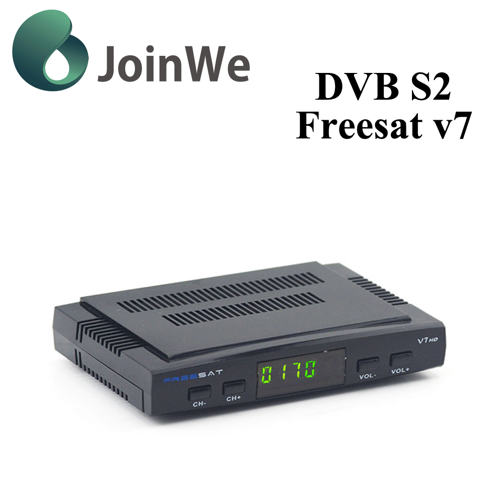 Freesat HD V7 DVB S2 Tuner Satellite Receiver V7 open set top tv box