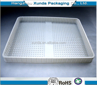 2015 Hot sales plastic tray for bread packaging PP/PET/PS customize food tray