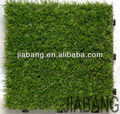 Foshan supplier DIY Artificial Grass interlocking floor tile for garden landscape
