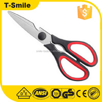 plastic handle separable kitchen scissors with opener