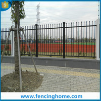 Temporary steel wire fence gates and garden fence
