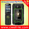 Dual SIM Card Dual Stand Flip Style Dual Screen Mobile Phone Flip phone Feature phone