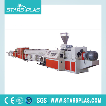 High speed PVC conduit pipe extruder machine