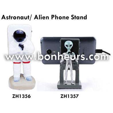 New Novelty Toy Decoration Smartphone Astronaut Phone Stand