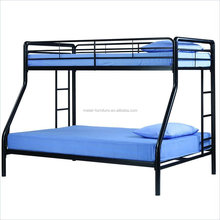 queen size double futon metal steel double sofa adult bunk bed design
