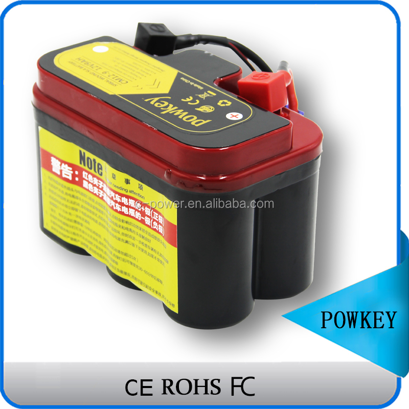 Powkey new rechargeable 12n7a 3a motorcycle battery