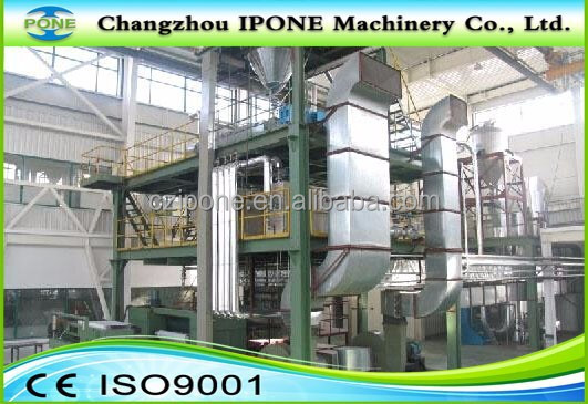 high quality China supply non woven making machinery