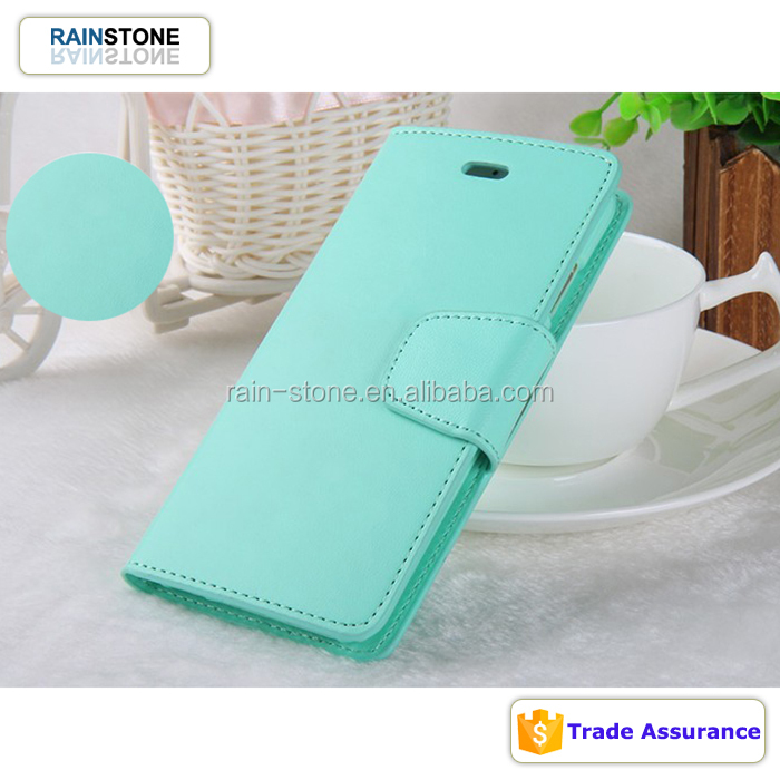 Goospery Mercury Leather Folio Case for iPhone 5C, Stand Wallet Glip Cover for iPhone 5 C
