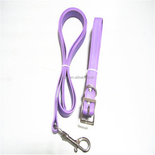 purple pet collar and leash smart dog leash collar