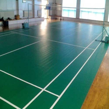 taraflex pvc indoor table volleyball badminton tennis court (pu)