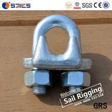 Rigging Hardware China Factory US Type Drop Forged Wire Rope Clips