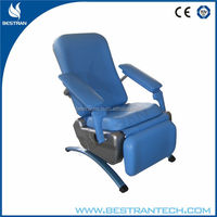 BT-DN007 China suppliers CE ISO hospital patient chairs, blood donor beds manual