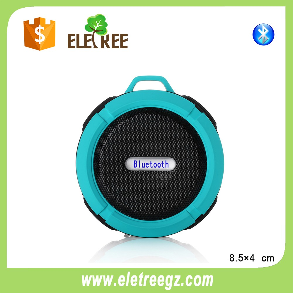 Portable Bluetooth 3.0 Stereo AUX Waterproof IPX3 Outdoor Speaker for Mobile phone Tablet Bluetooth Enabled Devices