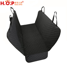 Pet Products 600D Oxford Fabric Pet Travel Hammock Dog Car Seat Cover with Side Flap and Waterproof