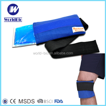 Multi Using Gel Ice Pack with Wrap for Injuries
