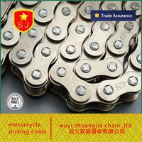 Chinese Motorcycle forging chain and Sprocket