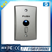 Metal Zinc Alloy Contactless no touch exit button