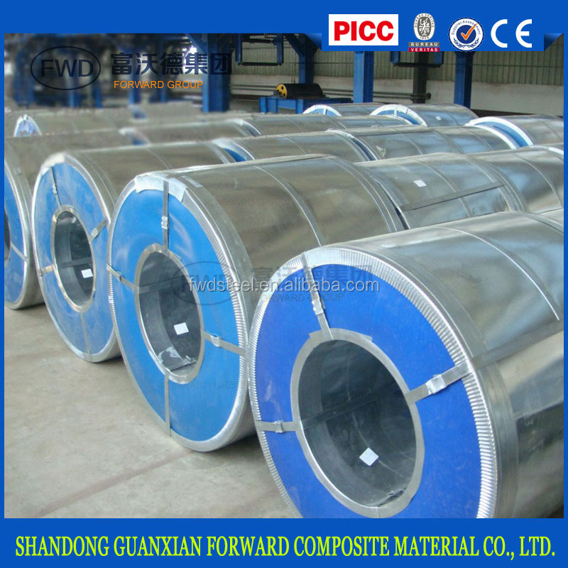 new roofing material hot dipped galvanized steel sheet in coil gi
