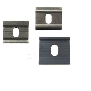 Factory Stainless Steel Railroad Gauge Baffle Plates For Rail Maintenance