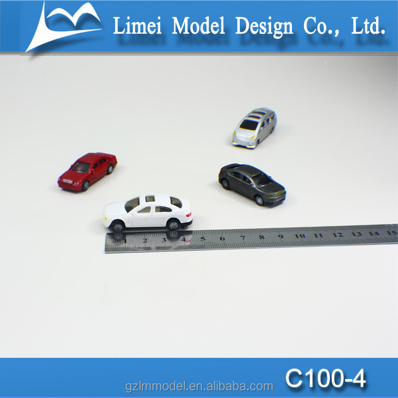 mini model car dealer, Miniature cars ,small model cars Ho scale 1:100 for model train layout