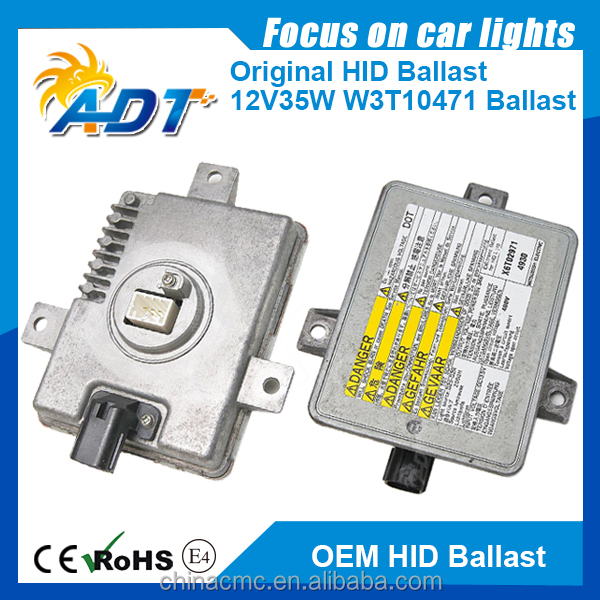12V 35W OBH Original Second-hand Xenon Ballast W3T10471 ballast for HONDA