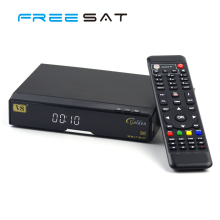 Freesat V8 Golden Ethernet World Live Youtube Porn TV Video LNB DVB-S T cable set top box Support GPRS Dongle