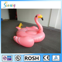 Sunway Swimming Ring Floating Rafts inflatable Flamingo Float for Adults