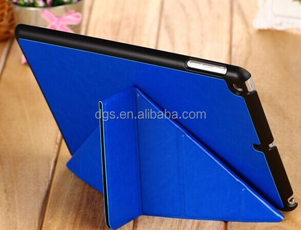 Colorful Colors multi-angle stand leather case for iPad mini 2/3/4 cover