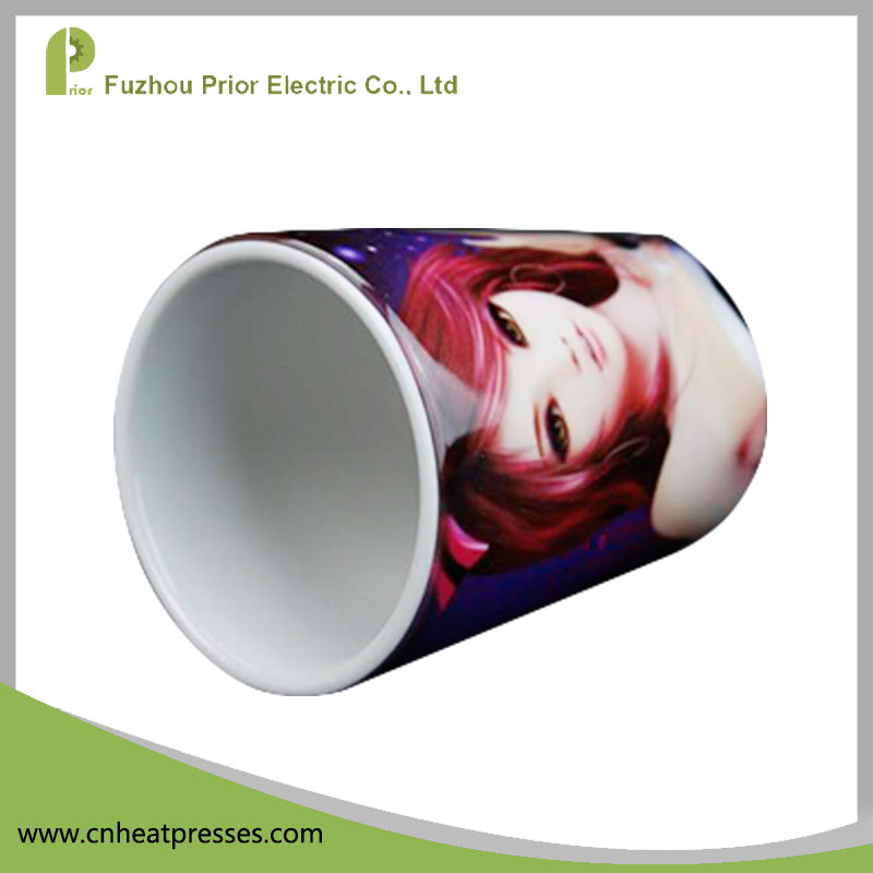 Prior Ceramic Blank Sublimation Flower Pot With Hole