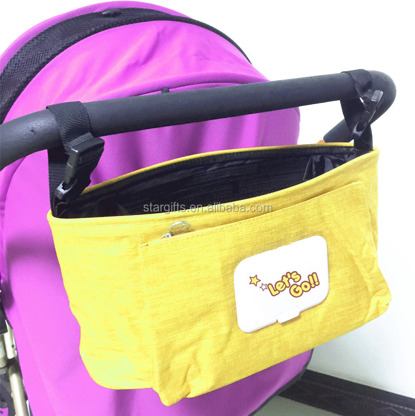 2019 Durable Logo Personalized Multi-Purpose Stroller Diaper Bag