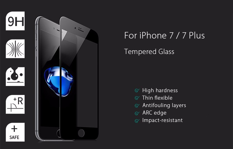 The Newest Tempered Glass Screen Protector for iPhone 7 Tempered Glass