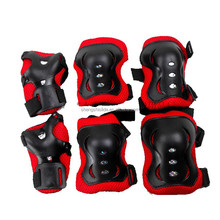 6 in 1 Knee Elbow Wrist Pads Protective Gears for Children