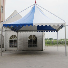 5x5m outdoor aluminum frame gazebo canopy tent for car parking