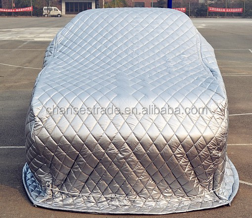 2016 new hebei chanses 3 layer form padded 2016 hail proof car cover3 layer form padded hail proof car cover