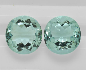 Hot Selling created london blue quartz gemstones for 925 silver jewelry
