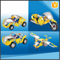 4 in 1 high quality educational metal building bricks toys for boy