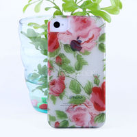 2013 new arrival elegant ultra thin transparent pc hard case for apple iphone 4