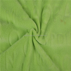 china suppliers polyester solid color cut-pile bathrobe coral fleece fabric