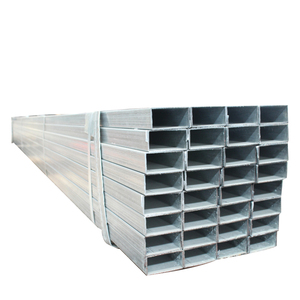 New cold rolled square galvanized / tube/galvanized pipe carbon steel with low price