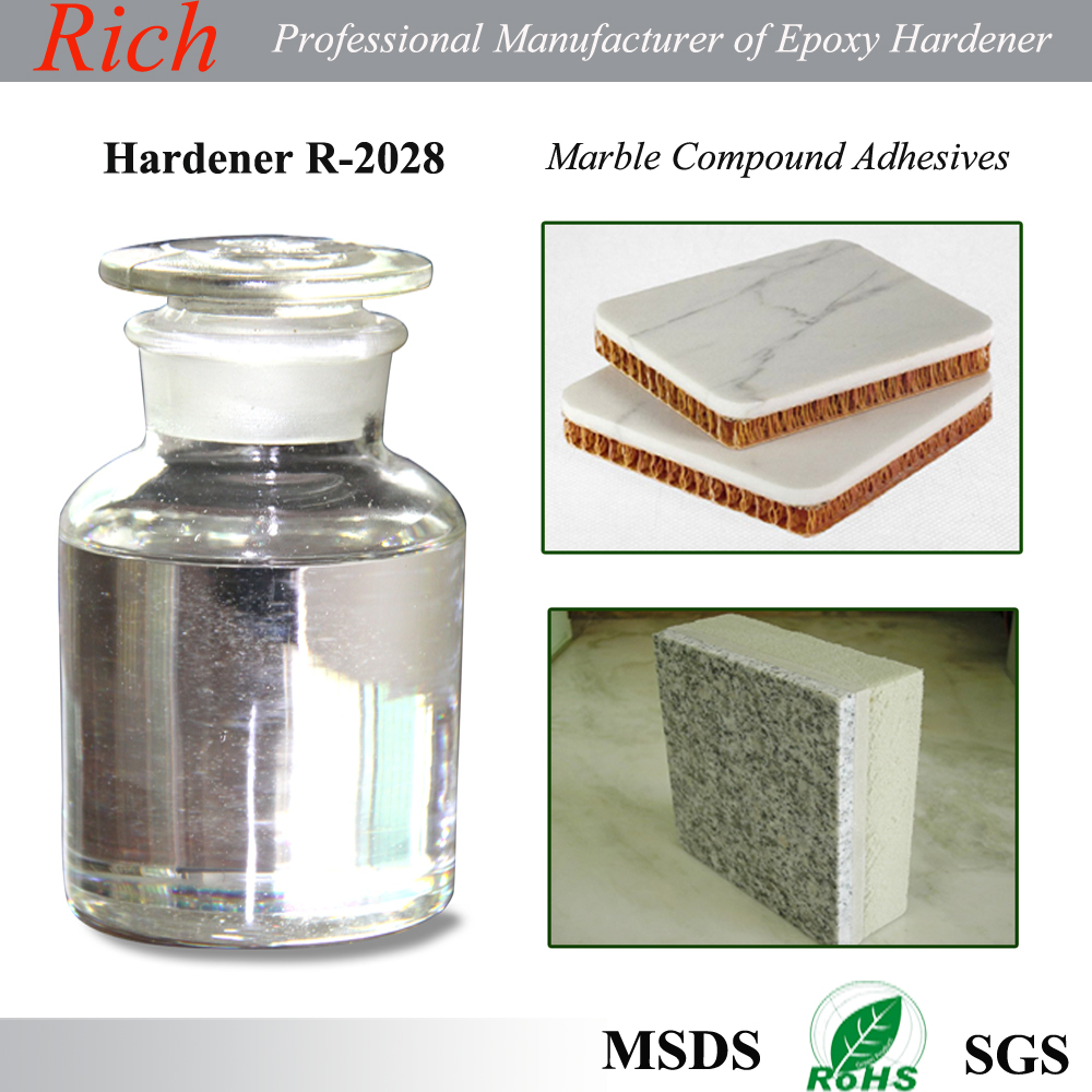 Marble Bonding Epoxy Adhesives Curing Agent, Stone Bonding Epoxy Hardener R-2028