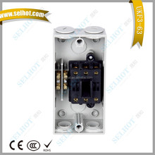 3 Poles 63A 55A 440V IP55/IP65 SAA Certification Electrical Waterproof Isolating Switch