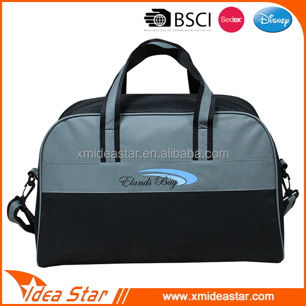 Best selling custom wholesale promotion gym duffle bag