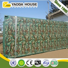 China Building Quick Assembly Prefab House Mobile Clinic Container