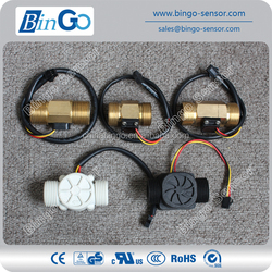 G3/4'', brass and plastic material water flow sensor