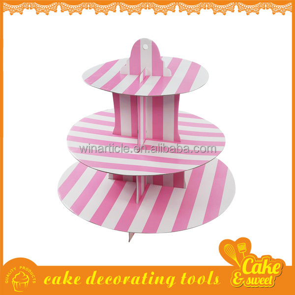 High quality wedding cup cake stand